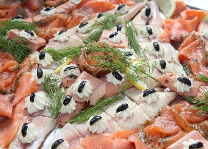 Fischplatten bei Martens Meeresdelikatessen